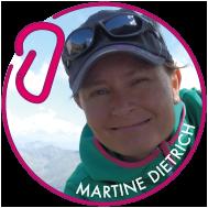 logo avec le portrait de Martin Dietrich